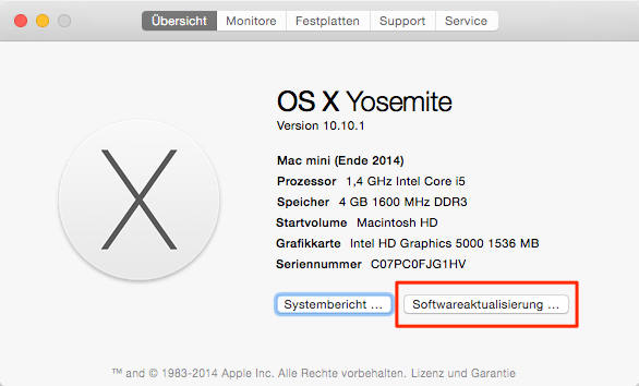 MacBook aktualisieren – MacBook