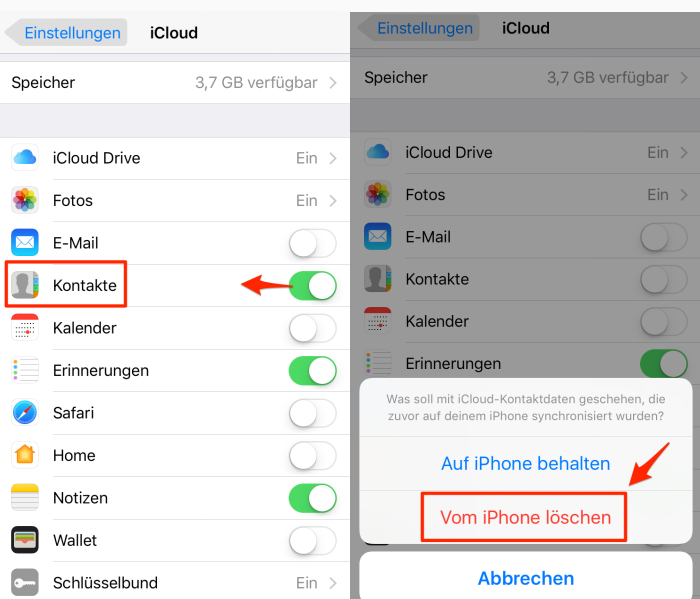 Kontakte Mit Bluetooth Übertragen Iphone