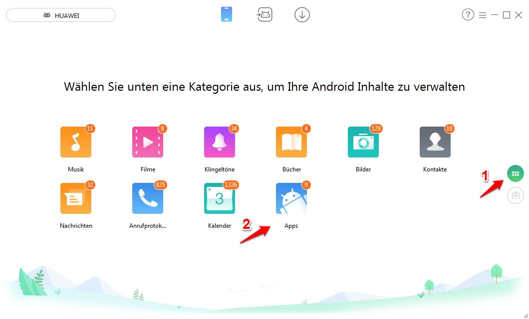 Android Apps auf PC übertragen – Schritt 1