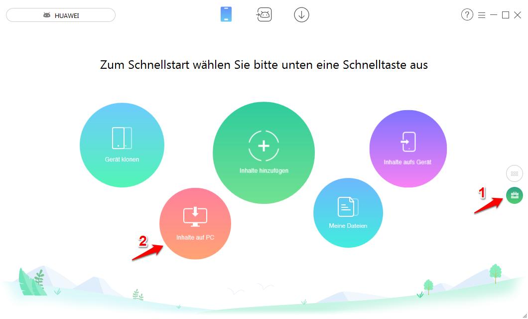 Alle Android Apps auf PC übertragen – Schritt 1