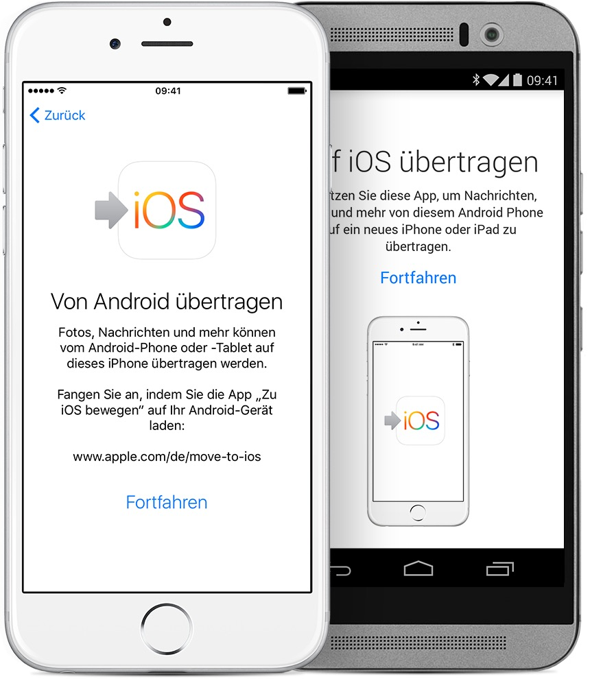 Überblick – Move to iOS: aus Apple.de