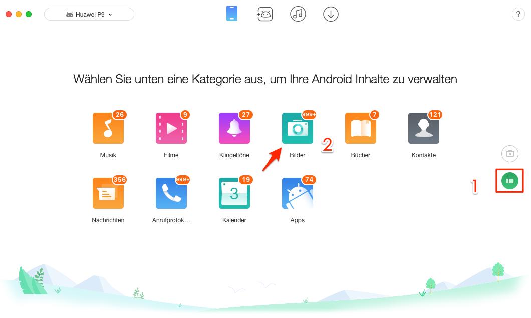 Bilder verstecken auf Android-Handy - Schritt 2