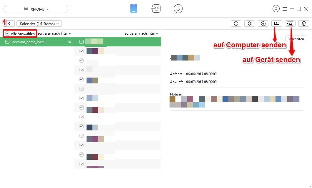 Kalender synchronisieren Android – Schritt 2