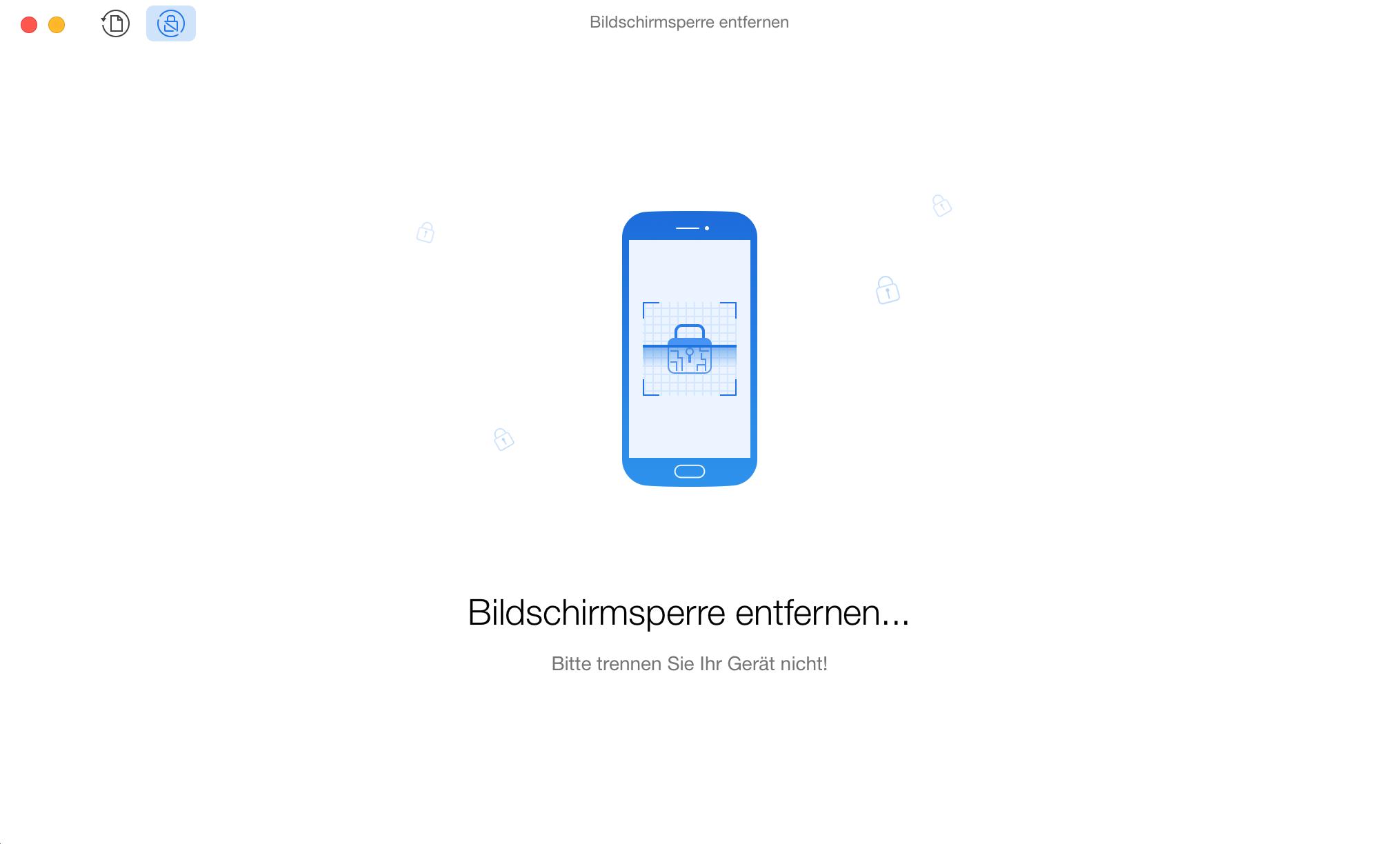 Android Passwort entfernen - Schritt 3