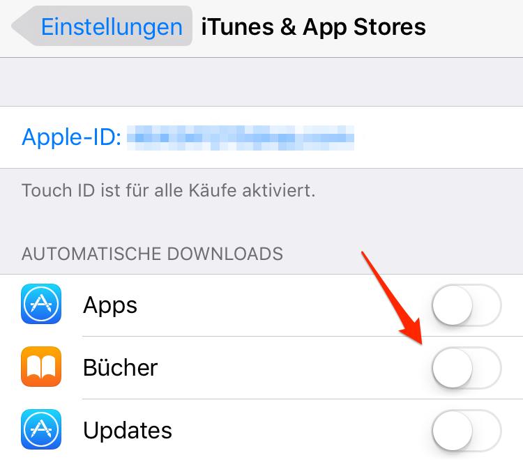 Automatische Updates auf dem iPhone/iPad deaktivieren