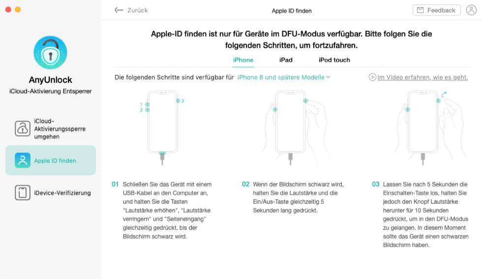 apple-id-finden-dfu-modus