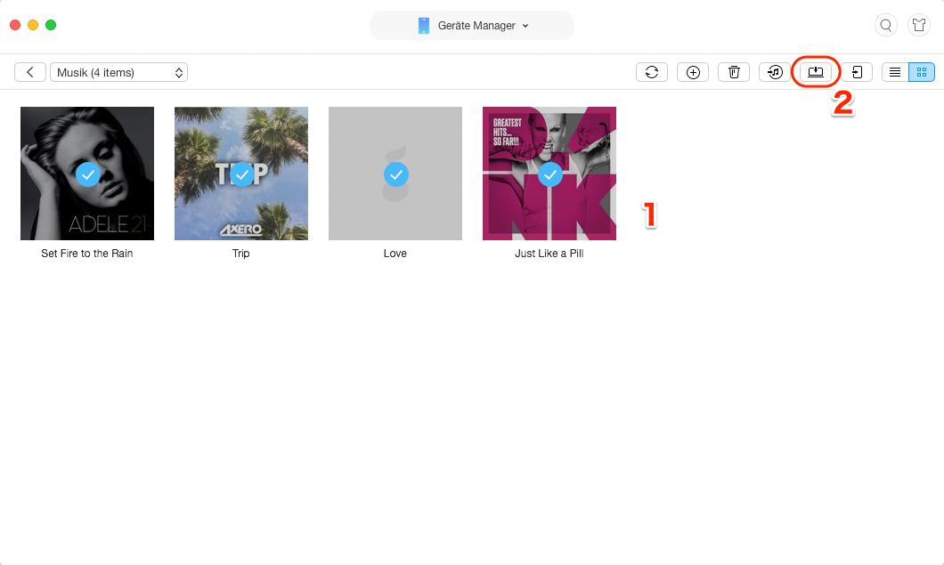 Apple Music auf Windows 7/8/10 nutzen - iPhone Musik auf PC senden