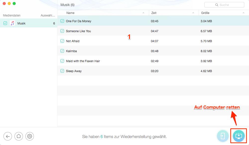 Apple Music überspringt Lieder - Musik auf PC retten