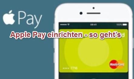 Apple Pay einrichten iOS 12
