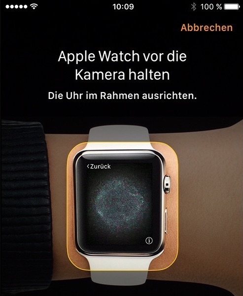 Apple Watch mit iPhone koppeln – Schritt 5