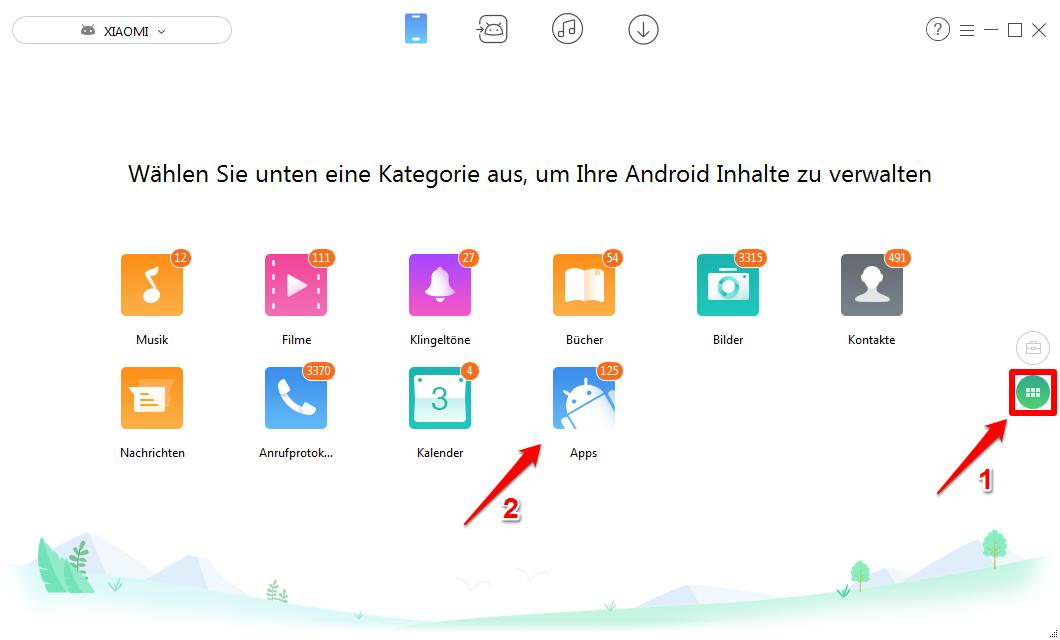 apps auf neues handy übertragen android