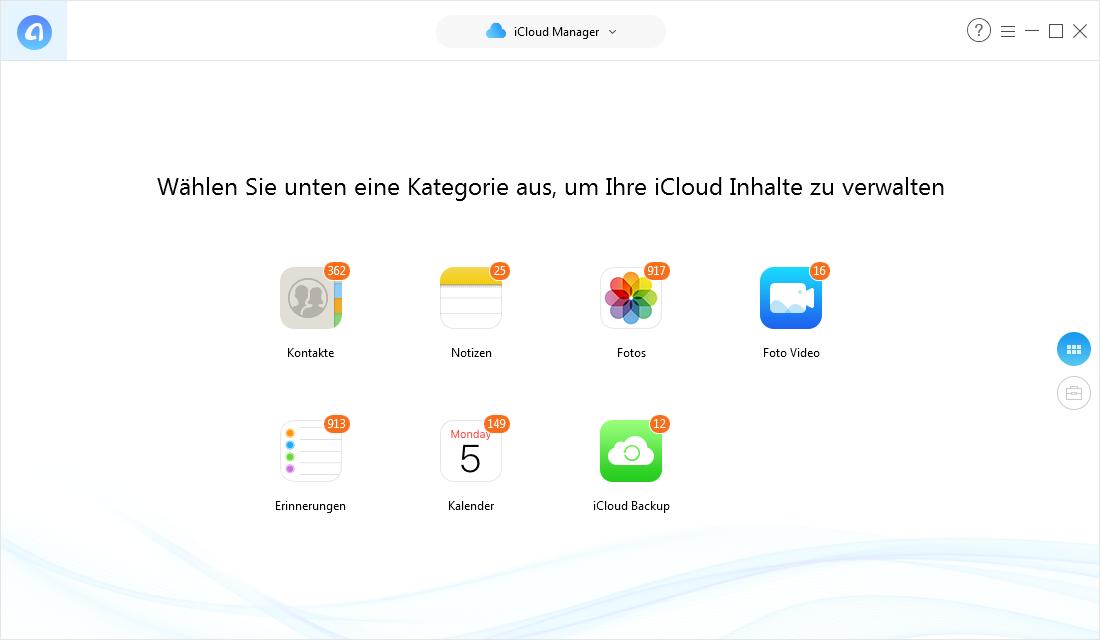 Apps aus iCloud löschen – iCloud Daten selektiv verwalten