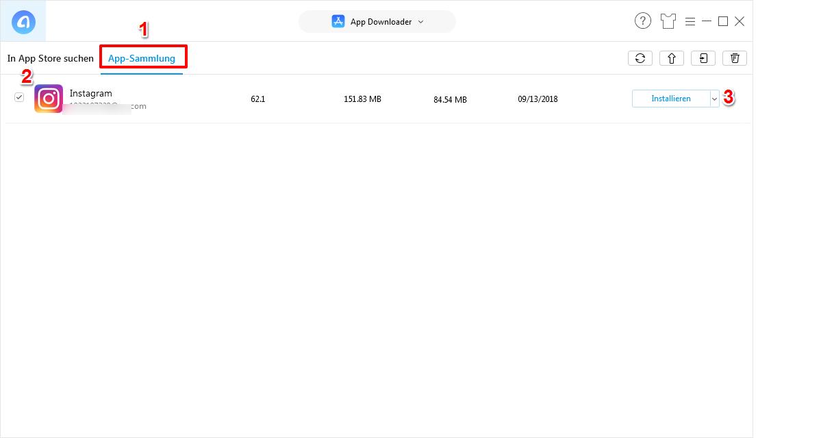 iPhone Apps kostenlos herunterladen – Schritt 4