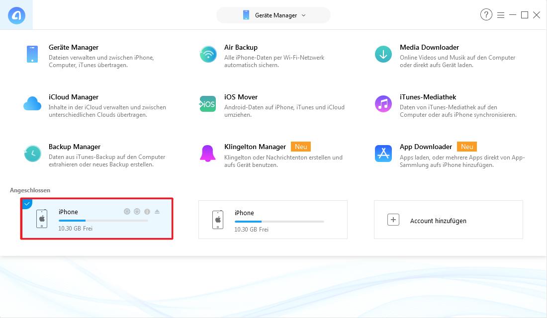 iOS 11 Apps verschieben – Schritt 1