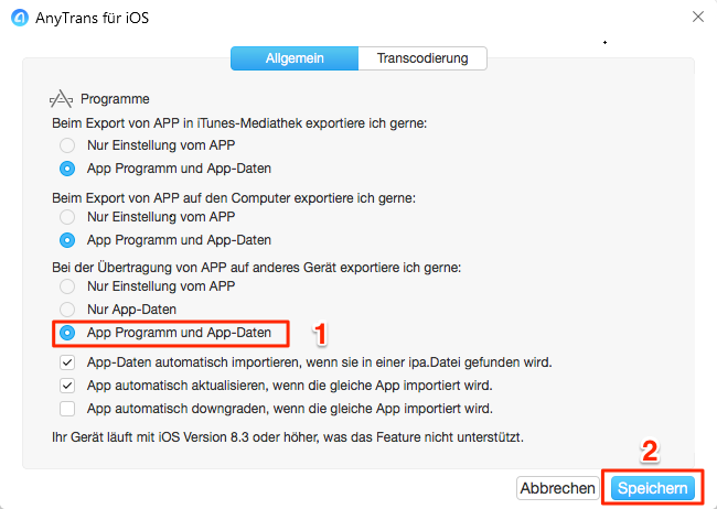 Apps Probleme: iPhone Apps verschieben funktioniert nicht – Schritt 3