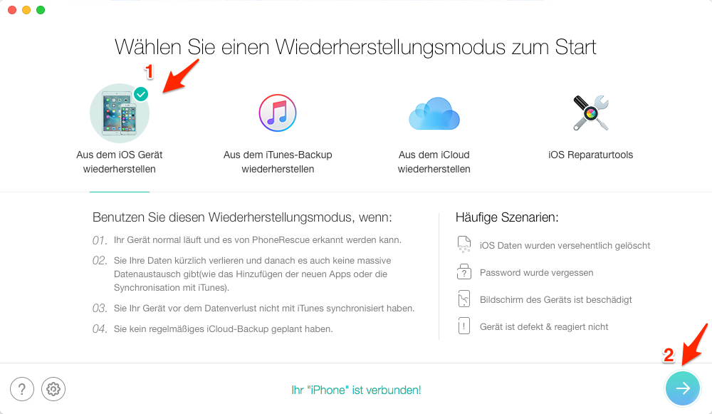 iOS 11 Apps Probleme: Apps verschwunden – Schritt 1