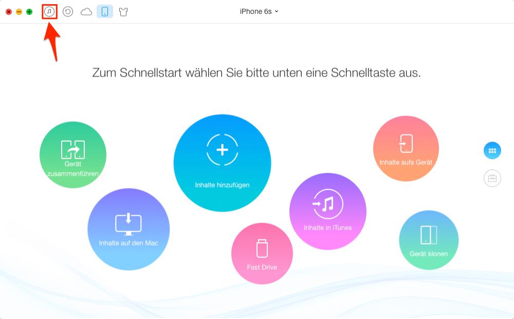Apps von iTunes auf iPhone – Schritt 1