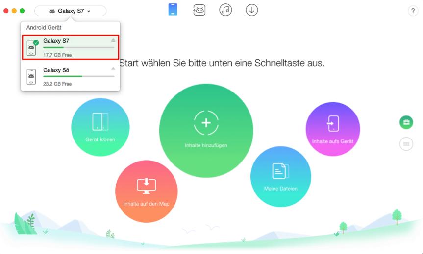 Apps auf neues Handy übertragen Samsung – Schritt 1