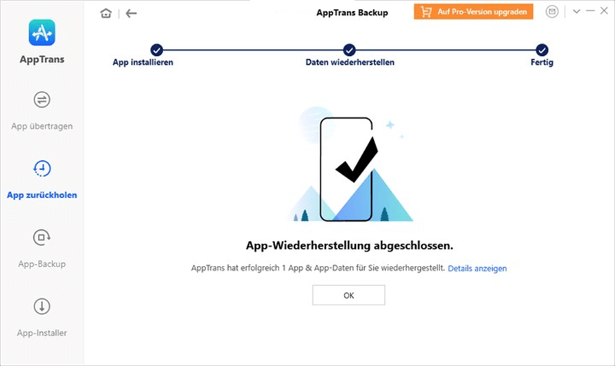 apptrans-backup-daten-wiederherstellen-fertig