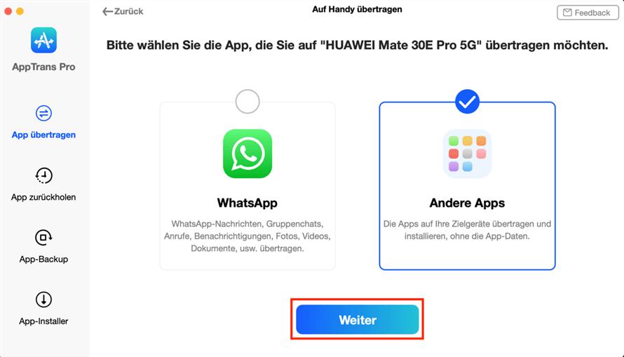 apptrans-uebertragen-andere-apps-weiter