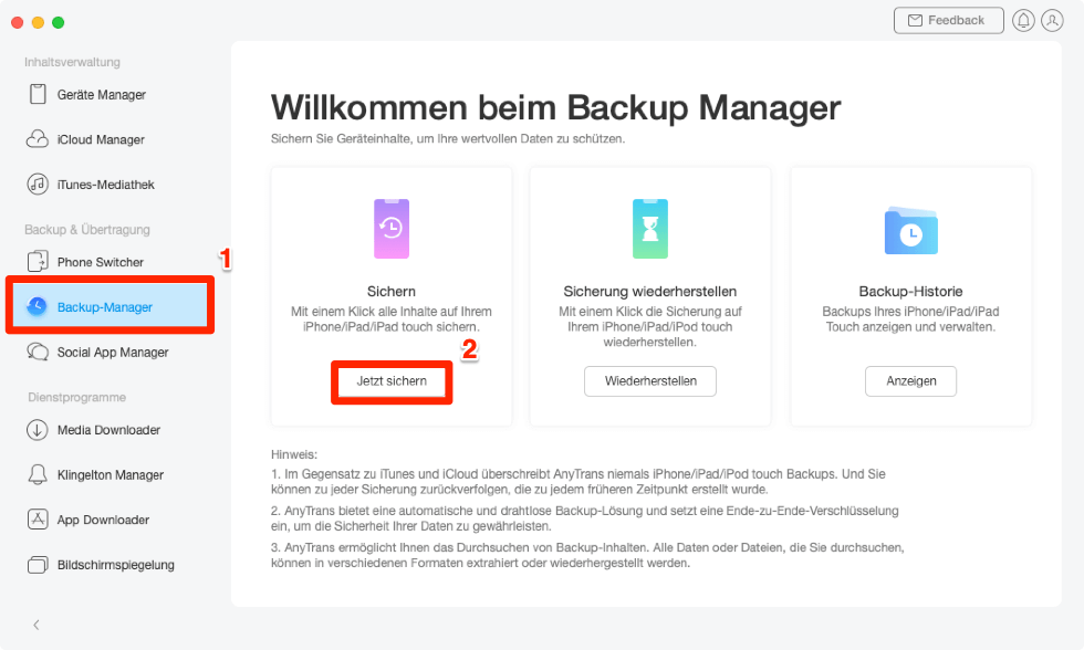 auf-backup-manager-klicken-und-sichern-auswaehlen