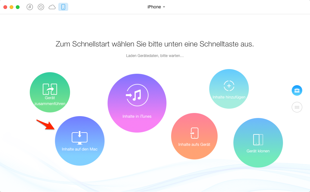 Mit AnyTrans Backup machen – Backup Software für iOS 9