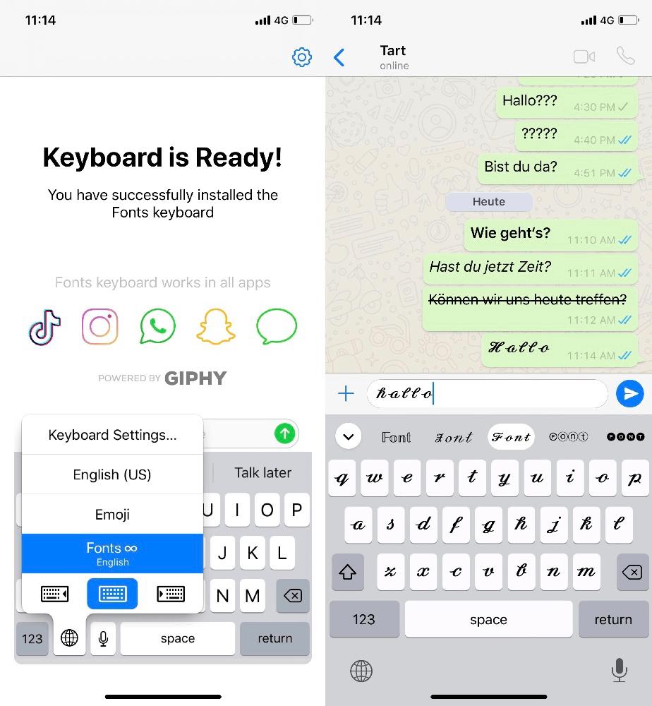 Wie kann man die Schriftart bei WhatsApp ändern-iMobie Inc.