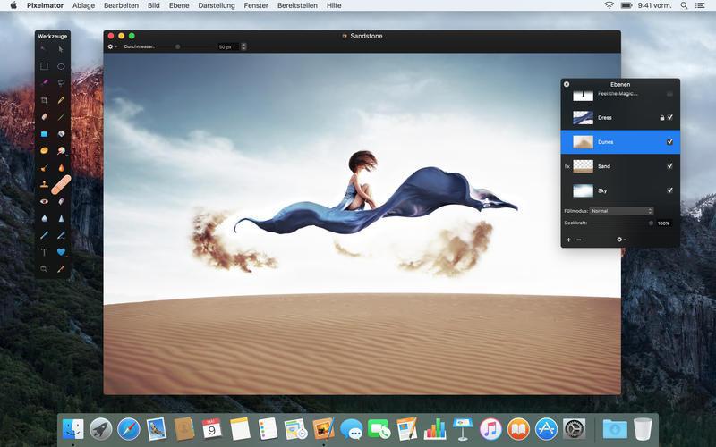 Top App für Mac: Pixelmator