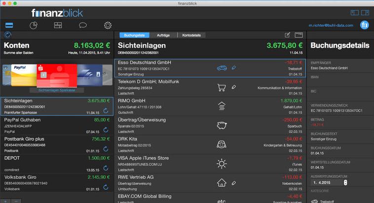Finanzblick - Top App für Mac