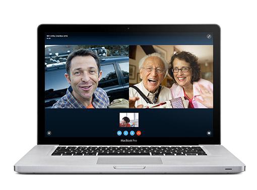 Beste App für Mac: Skype