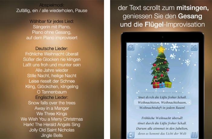 App für Weihnachtslieder – Weihnachtslieder