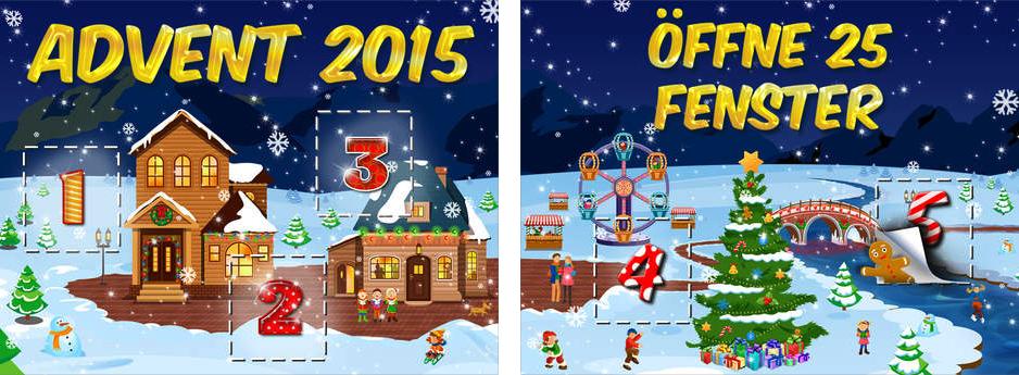 App für Weihnachten - Adventskalender