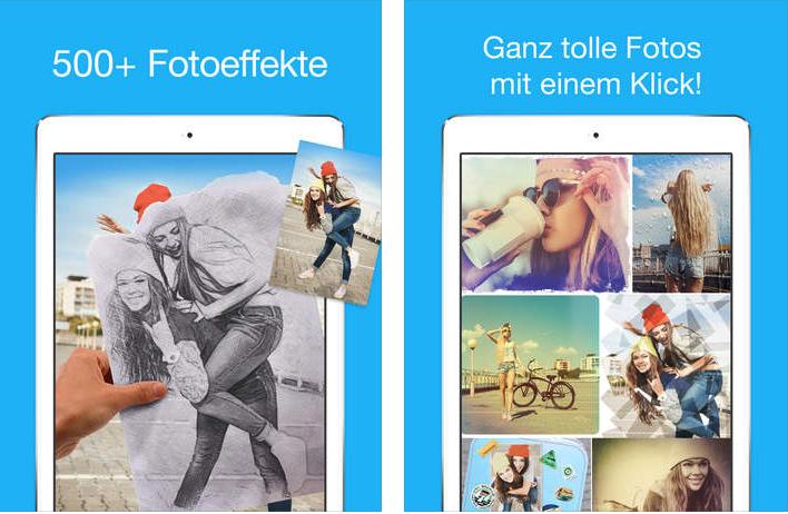 App für Weihnachtsbilder – Photo Lab