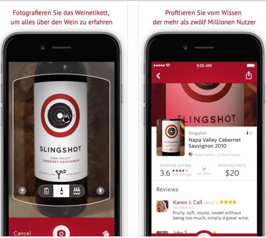 Wein-App – App für Weihnachten