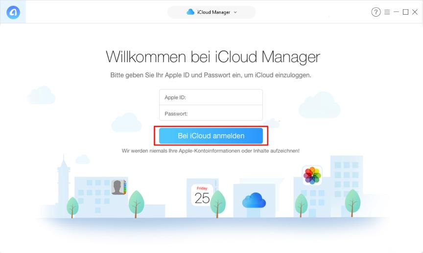 Bilder aus iCloud auf PC speichern - Schritt 2