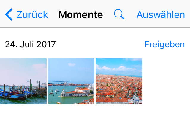 Fotos vom iphone ohne iCloud auf ipad