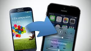 Bilder von Android auf iOS