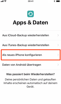 Bluetooth Android zu iPhone