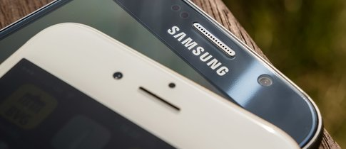Bilder von Samsung auf iPhone