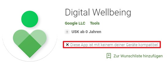 Android Bildschirmzeit vorstellung