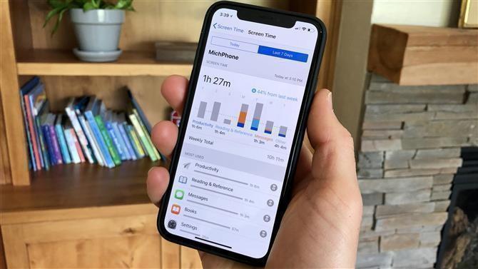 Bildschirmzeit im Android Handy