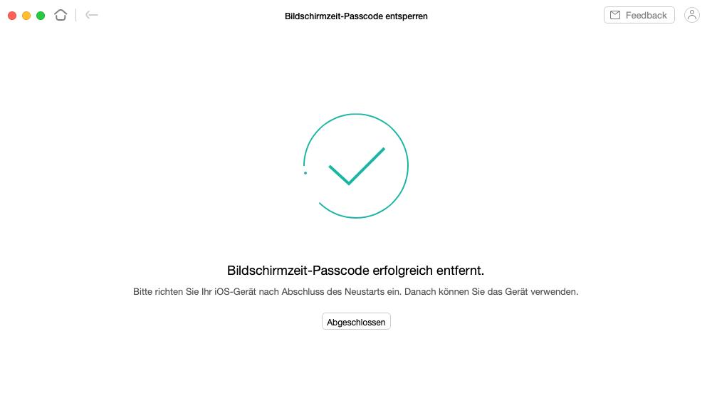 bildschirmzeit-passwort-erfolgreich-entfernt
