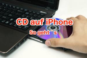 Wie überträgt man CD auf iPhone