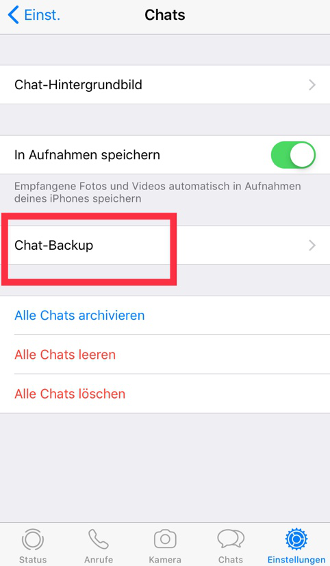 chat-backup-klicken