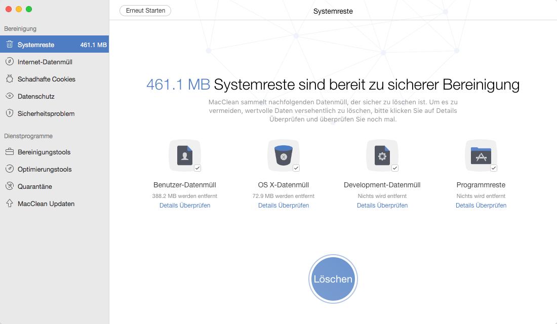 clean install El Capitan/MacOS Sierra - MacClean