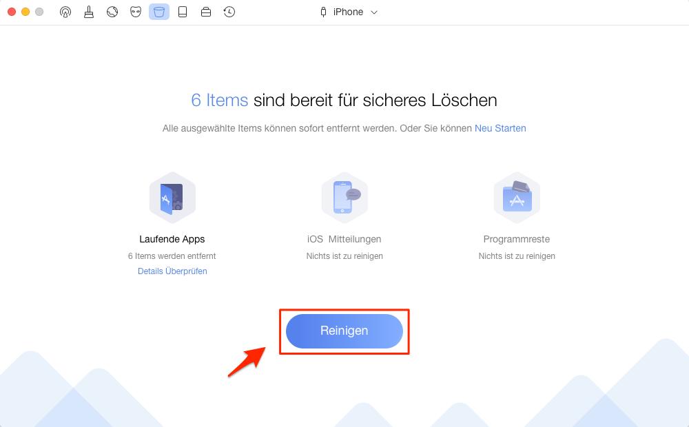 Wie kann man Safari Verlauf vom iPhone löschen – Schritt 2