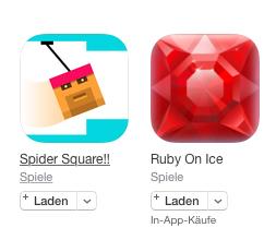 App im iTunes-Store laden – Schritt 2