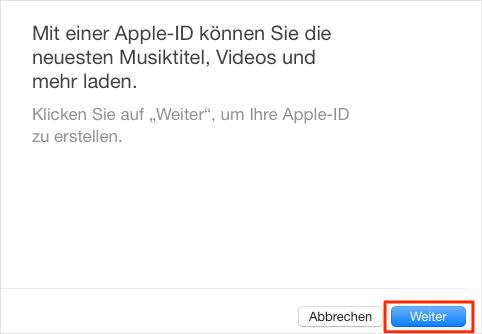 Apple Account ohne Kreditkarte erstellen – Schritt 4