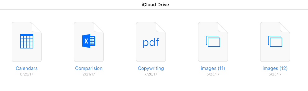 Daten auf iCloud zugreifen – über iCloud Drive