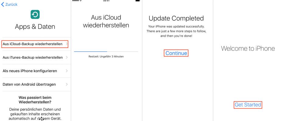 iphone 5 backup wiederherstellen passwort vergessen